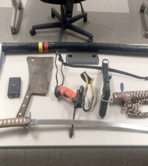 Matthew Bromson: Man arrested after weapons seized at Gillette Stadium