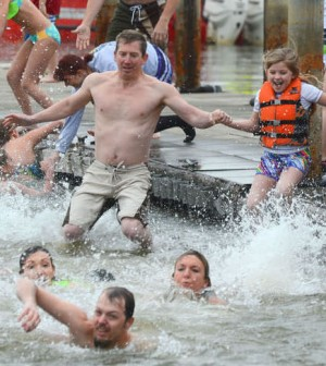 Polar Bear Plunge postponed because of rising waters - Details