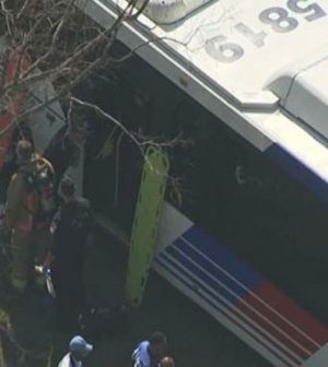 Houston Metro bus involved in major accident (Watch)