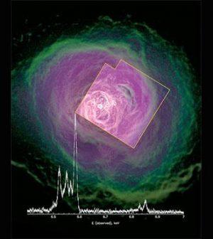 Hitomi satellite found slow gas flows in galaxy cluster