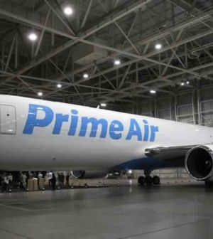 First Amazon Prime Air plane unveiled [Video]