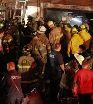 Delaware Firefighters Killed In Rowhouse Blaze