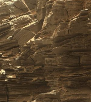 Nasa's Curiosity rover sends new images of Mars rock formations