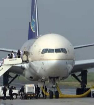 Saudi plane isolated in Manila, Phillipines