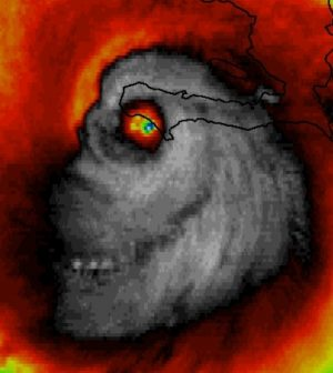 "Hurricane Matthew ""Skull"" Image: Is It Real or Fake? [Photo]Hurricane Matthew ""Skull"" Image: Is It Real or Fake? [Photo]"