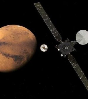 Schiaparelli: European probe set to touch down on Mars