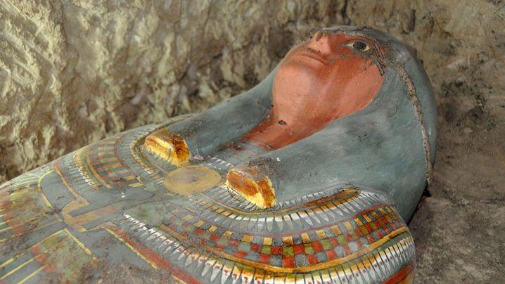 Luxor Mummy found in good condition