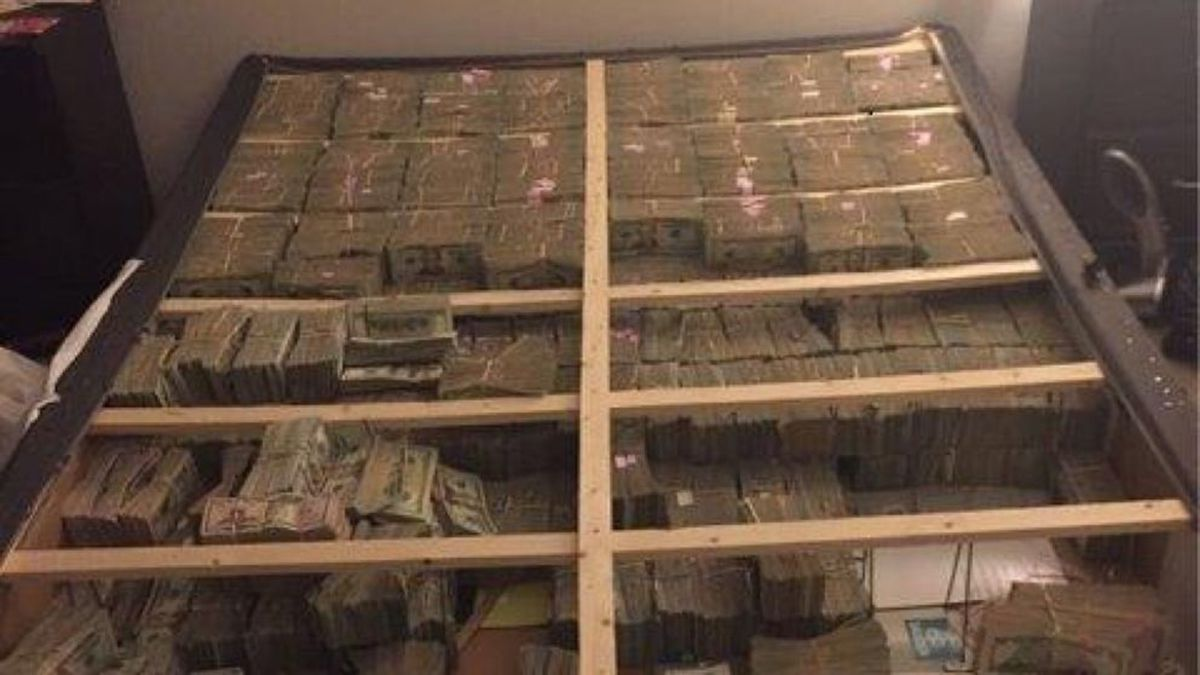 $20 Million Under Mattress? Feds Tweet Picture Of Latest Find