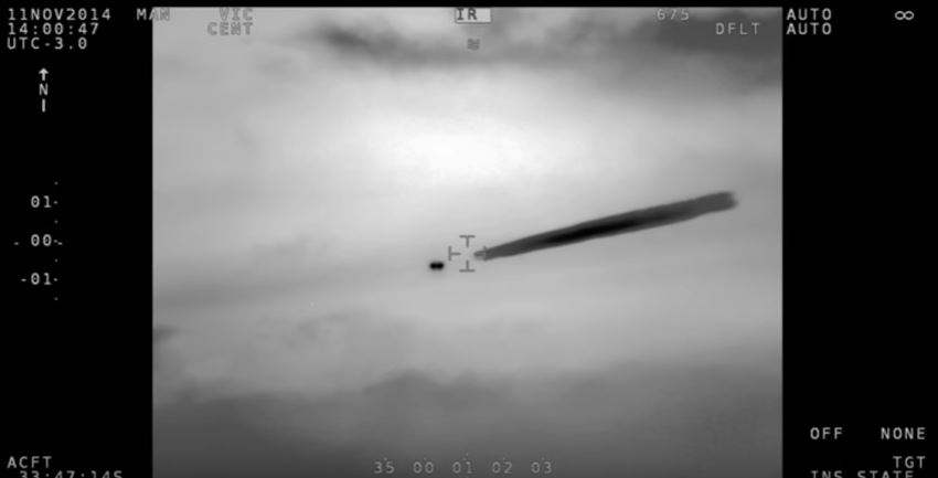 "Chile Navy UFO: Government Releases An Unexplainable ""UFO Sighting"" Video"