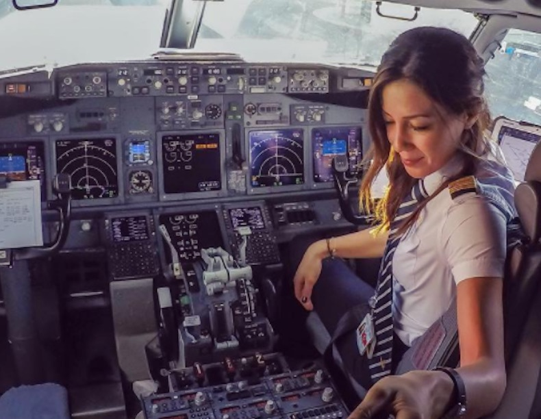 Airline pilot an Instagram darling: 'My childhood dream'
