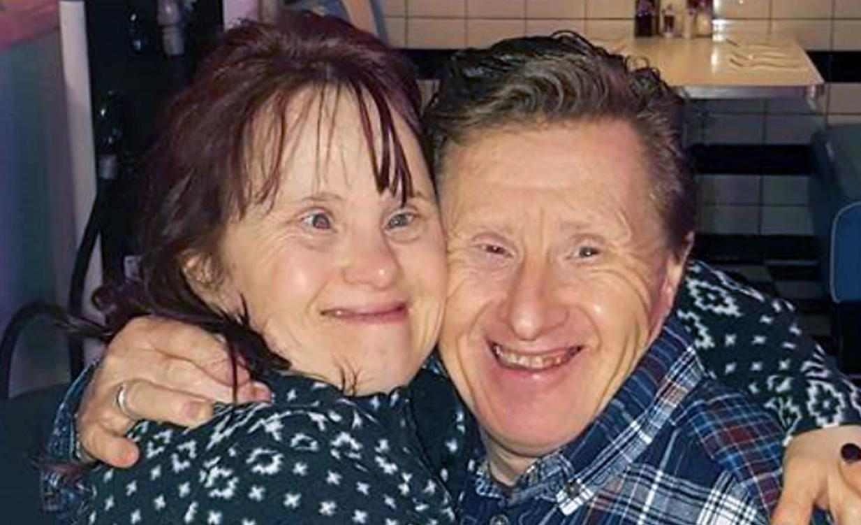 Down Syndrome couple celebrate 22 years of happy marriage (Picture)
