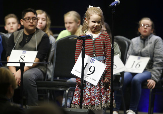 Edith Fuller is the Youngest Ever to Head National Spelling Bee (Watch)