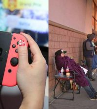 Nintendo Switch release draws long lines, Reports