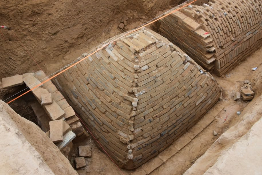 Pyramid Shaped Tomb Discovered In China (Picture)