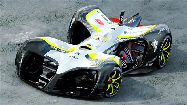 Roborace: Robocar a self-driving electric AI car - unveiled at MWC (Picture)