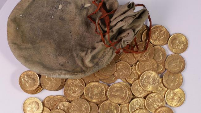 "Mystery gold hoard hidden in a piano declared ""treasure"""