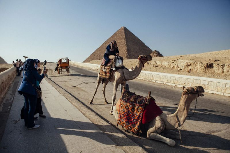 New Pyramid Remains Discovered South of Cairo, Egypt