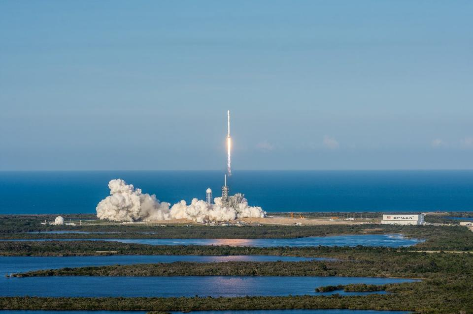 SpaceX Launches Its Reusable Rocket (Watch)