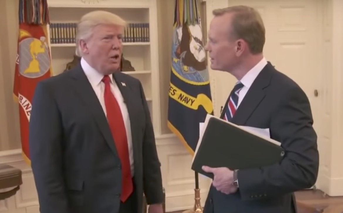 Trump Ends CBS Interview Over Obama Wiretap Questions (Watch)