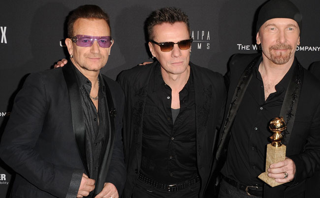U2 Bono bans President Donald Trump from tour
