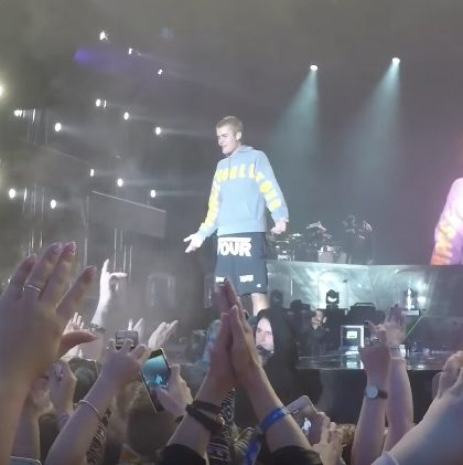 Justin Bieber Being Hit With A Shoe (Watch)