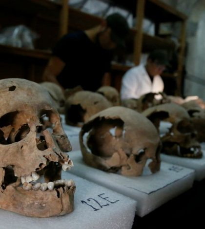 Tower Of Skulls Found By Researchers in Mexico