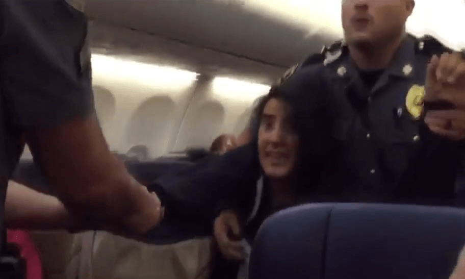 Allergic woman removed from plane because she objected to dogs (Video)