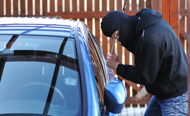 Car theft soars by 30 percent in three years