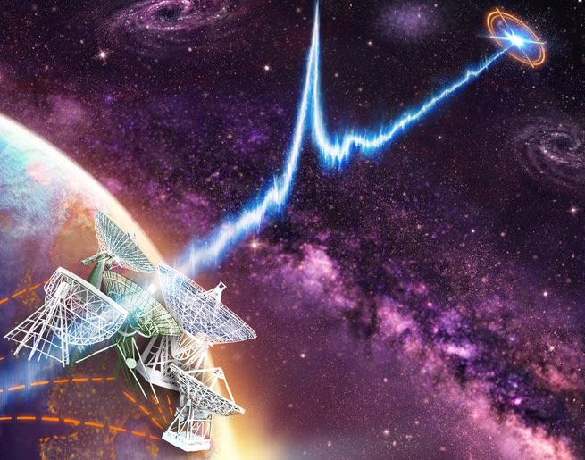 ET Calling? Mysterious Radio Signal Bursts Tracked To Dwarf Galaxy