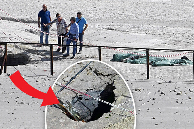 Family Falls Into Volcano: Parents Chase After Son, All 3 Perish in Volcano Crater