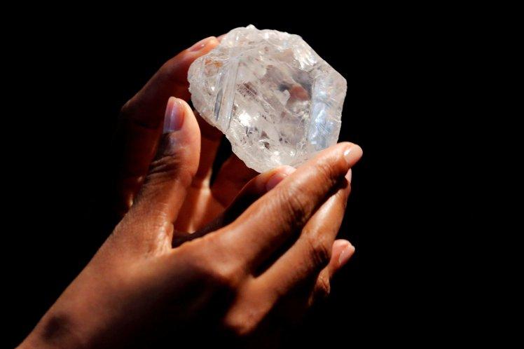 World's largest uncut diamond sells for 53 million