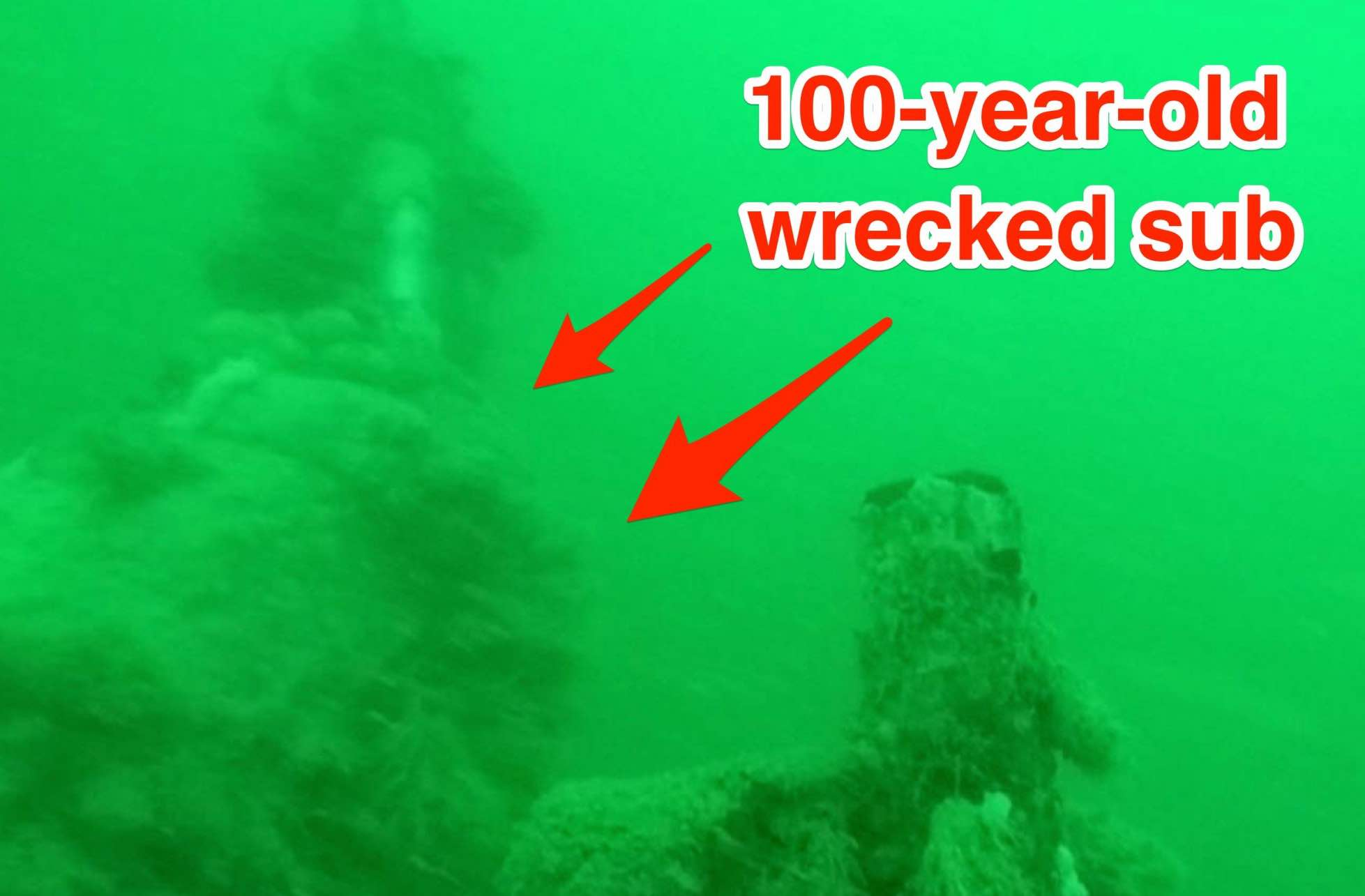 Wreck Of WW1 U-boat Found Off Belgium (Video)