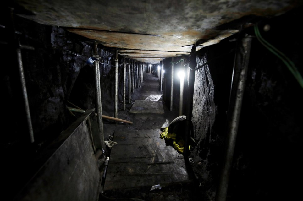 Would-be bank robbers thwarted in Brazil after digging 600m tunnel