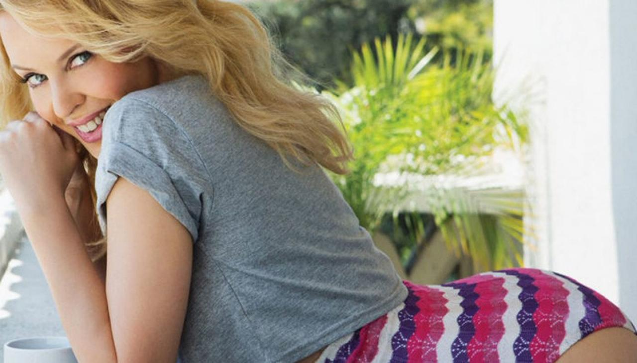 Kylie Minogue denies sexy new pics were photoshopped