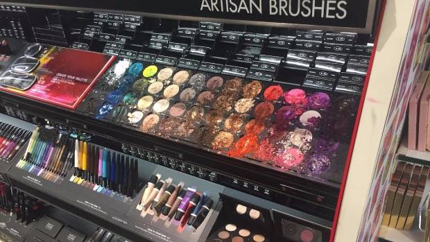 $1300 worth of makeup destroyed by child at Sephora