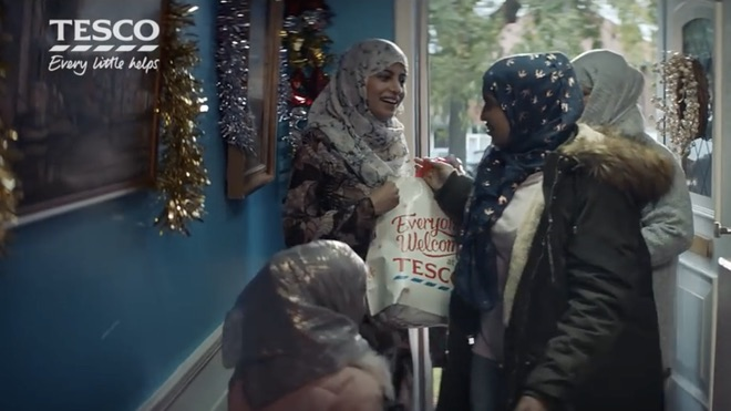 Tesco responds to racist advert 2017