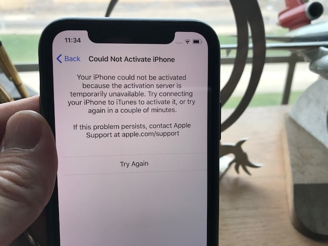 iPhone X Activation Problems, How To Fix It