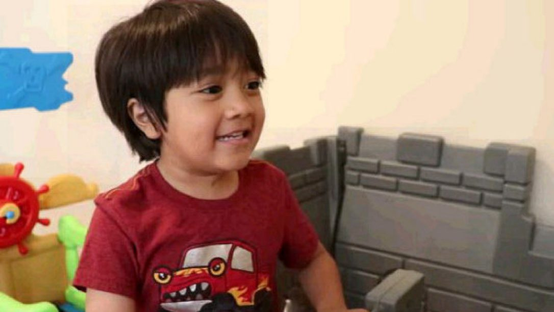 This 6-year-old YouTuber made $11M in 2017