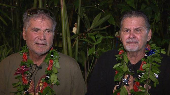 Hawaii friends for 60 years discover they are brothers