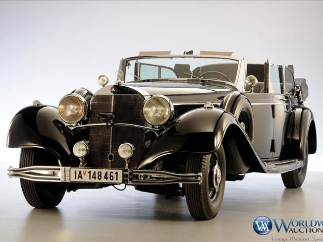 Hitler's Mercedes Set For Auction (Photo)