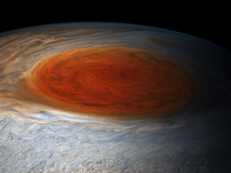 NASA's Juno Spacecraft Looks Into the Depths of Jupiter's Great Red Spot