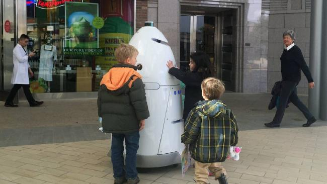 Security robot accused of harassing homeless people, Report