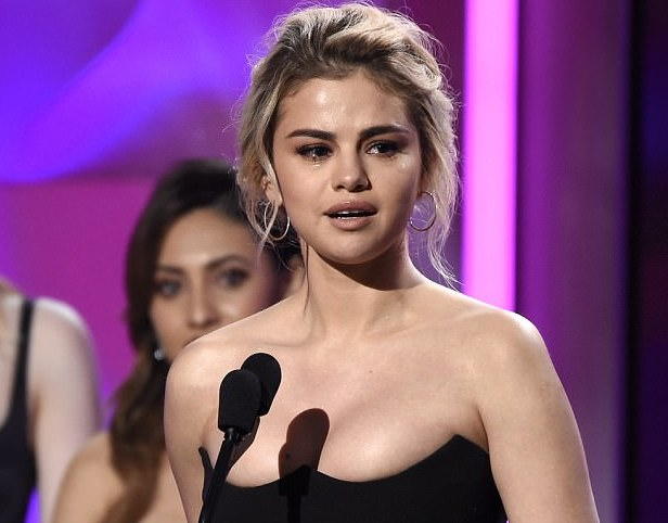 Selena Gomez Cries Through Emotional Billboard Women in Music Speech
