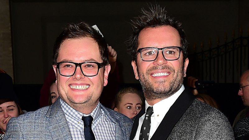 Alan Carr has married his partner of ten years