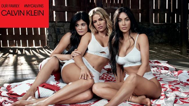 Kylie Jenner Calvin Klein Ad Pose Suspicious (Watch)