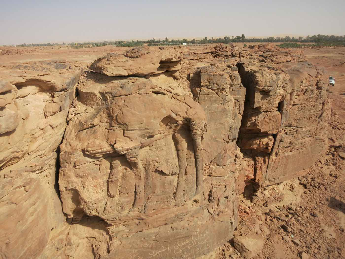 Ancient Rock Carving found in remote Saudi Arabia