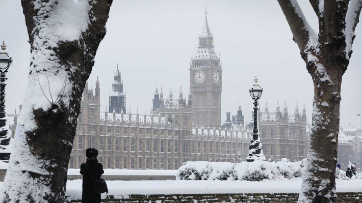 Beast From The East: UK set for -7C lows