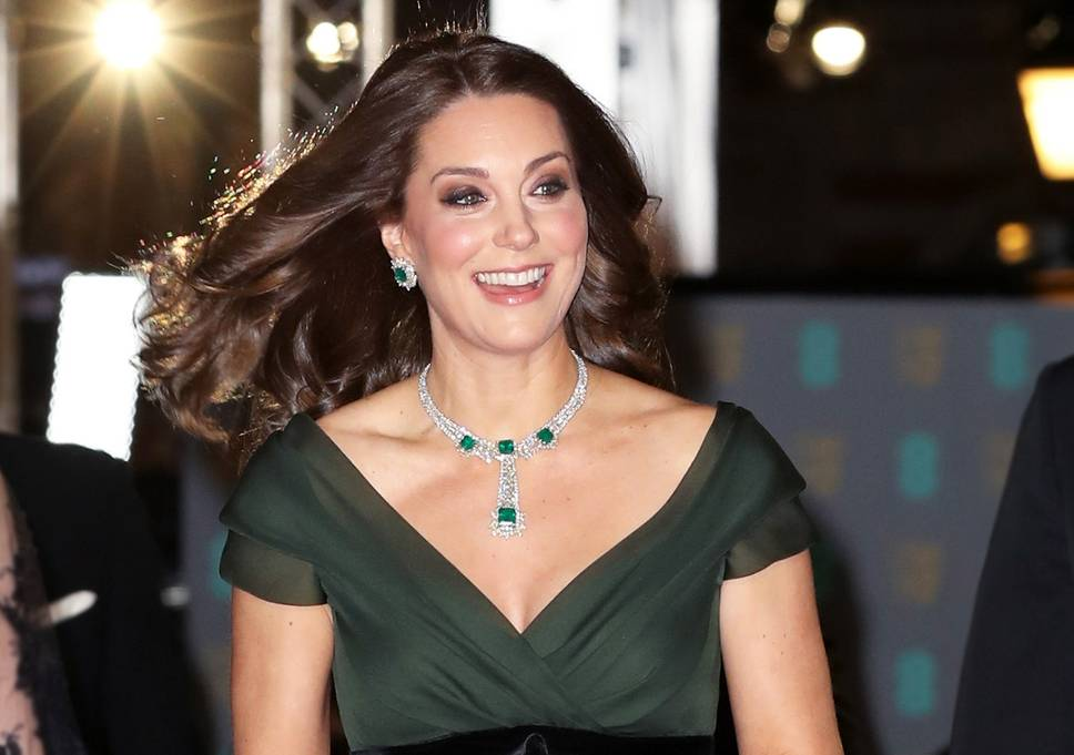 Duchess Kate BAFTAs red carpet - here's why She wasn't in black