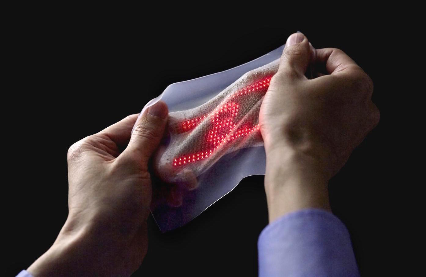 Electronic skin animates heartbeat (Watch)