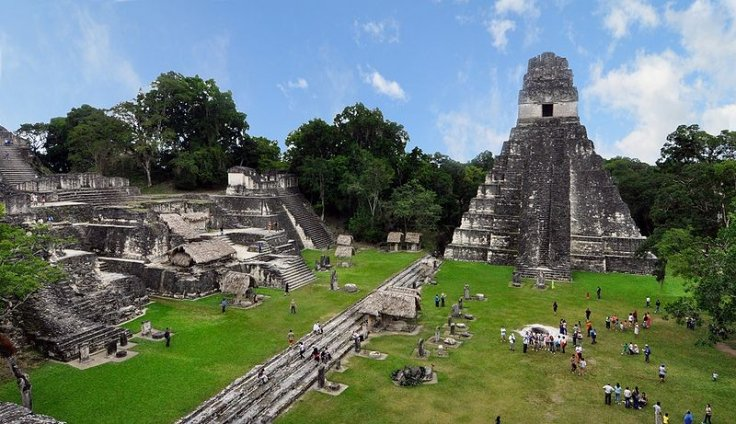 Guatemalan jungle: Laser survey has revealed vast network of hidden Maya structures